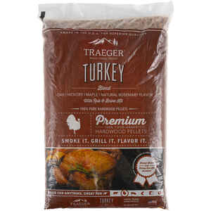 Traeger  Turkey Blend  Hardwood Pellets  20 lb.