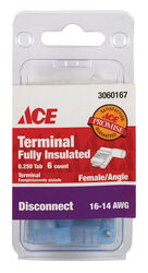 Ace  Female Disconnect  Blue  6 pk