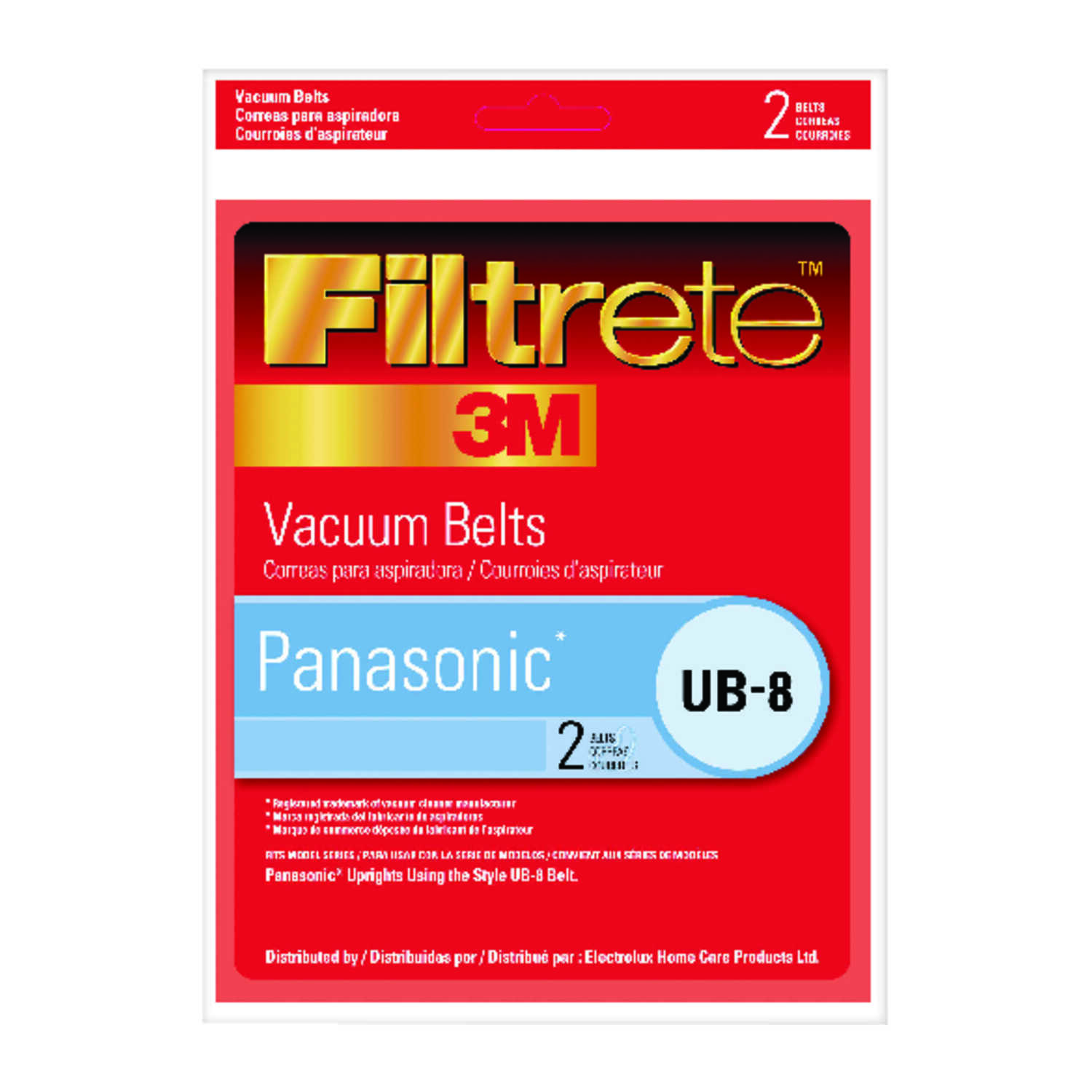 3M  Filtrete  Vacuum Belt  For attaches to vaccum 2 pk
