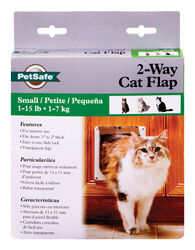 Petsafe  5.8 in. H x 5.8 in. W Plastic  Door and Gate