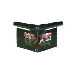 Master Mark  Master Gardener  3.5 in. L x 3.5 in. H Plastic  Black  Edging Coupler Kit