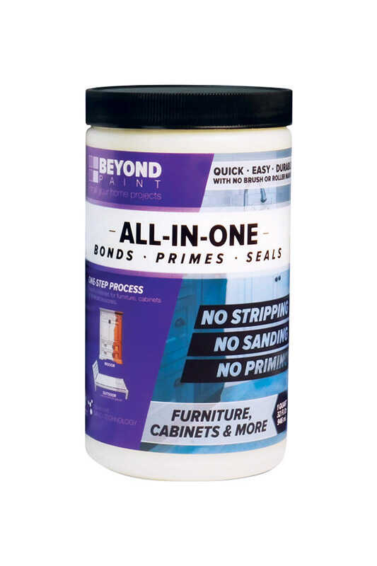 BEYOND PAINT  All-In-One  Pebble  Water-Based  Acrylic  One Step Paint  Matte  1 qt.