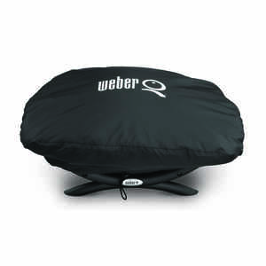 Weber  Black  Grill Cover  26.3 in. W x 17.3 in. D x 12.4 in. H For Q100/1000 Series Grills
