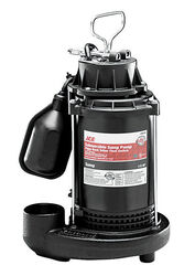 Ace 1/2 hp 4200 gph Thermoplastic Tethered Float AC Submersible Sump Pump