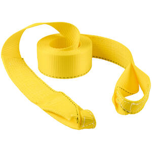 Keeper  3 in. W x 20 ft. L Yellow  Vehicle Recovery Strap  11000 lb. 1 pk