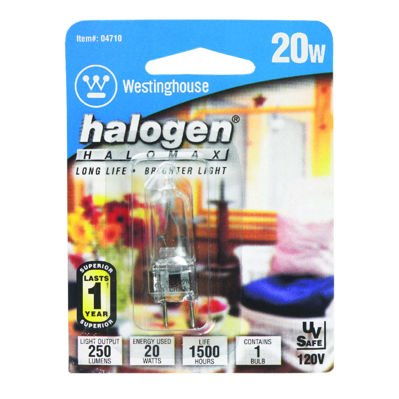 Westinghouse 20 Watts T4 Halogen Bulb 200 Lumens White
