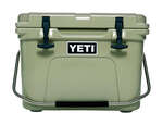 YETI  Roadie 20  Cooler  20 lb. capacity Tan