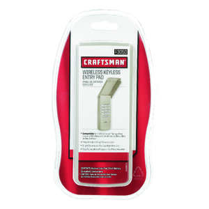 Craftsman  1 Door  Wireless Keyless Entry  For All Major Brands Manufactured After 1993