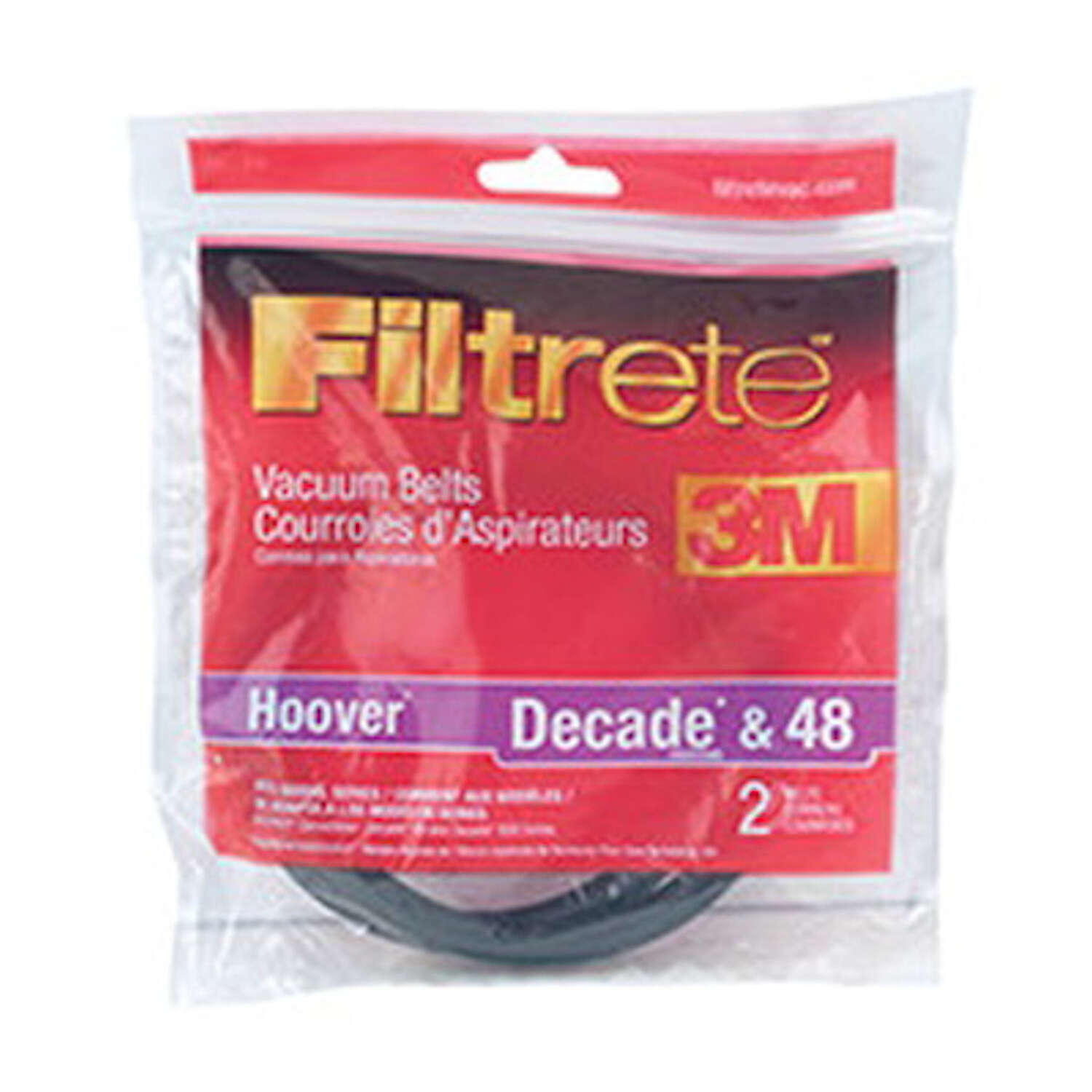 Filtrete  Vacuum Belt   Hoover Decade and 48 Pack 2