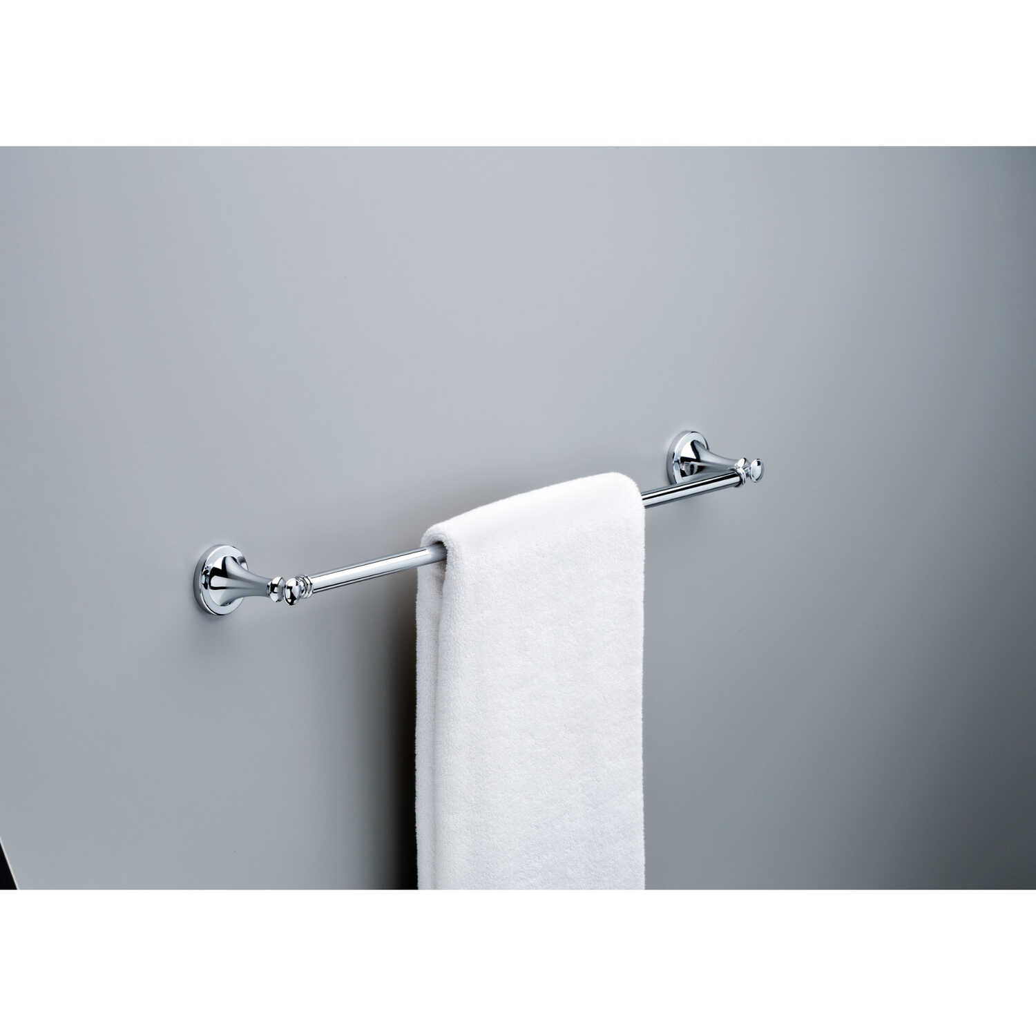 Delta  Silverton Collection  Chrome  Towel Bar  24 in. L Die Cast Zinc
