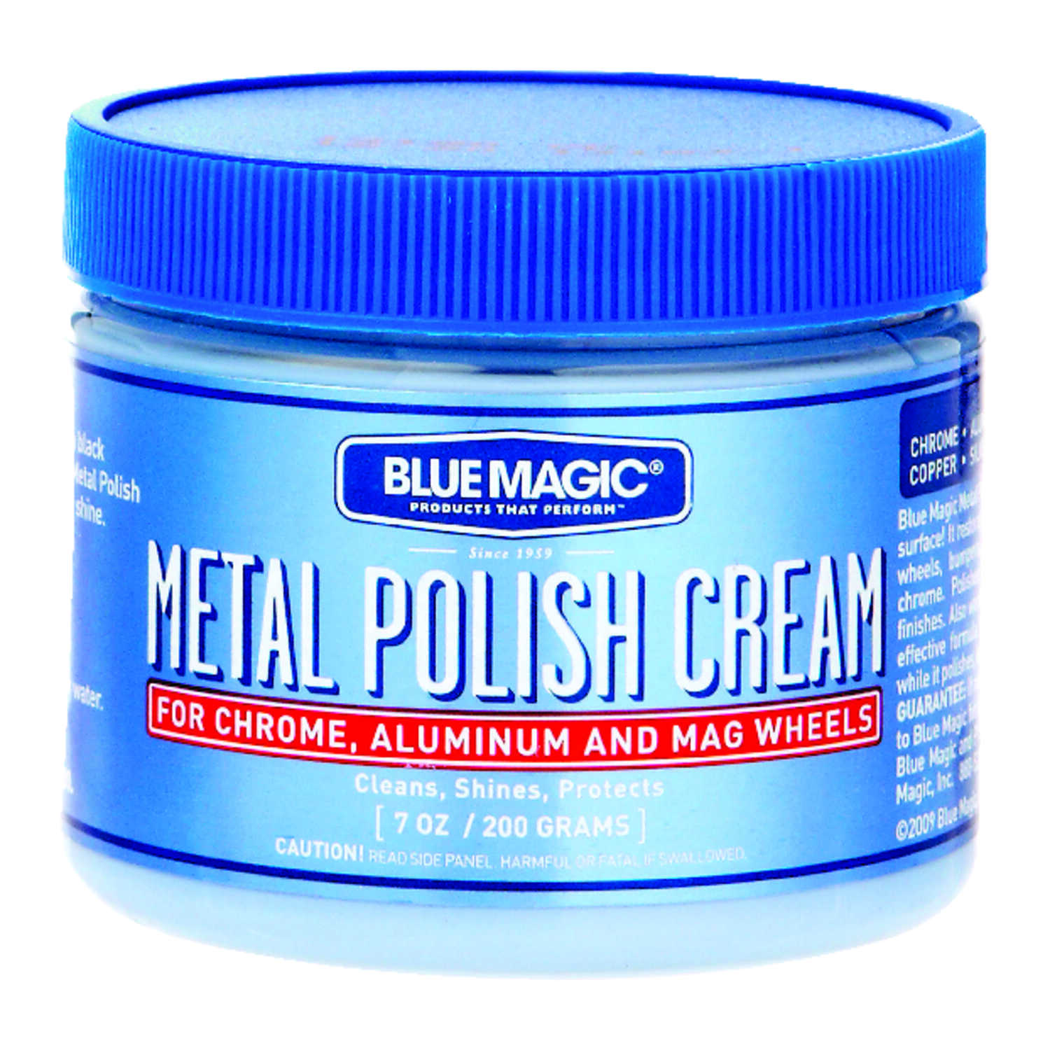 Blue Magic  Paste  Automobile Polish  7  For Chrome And Aluminum