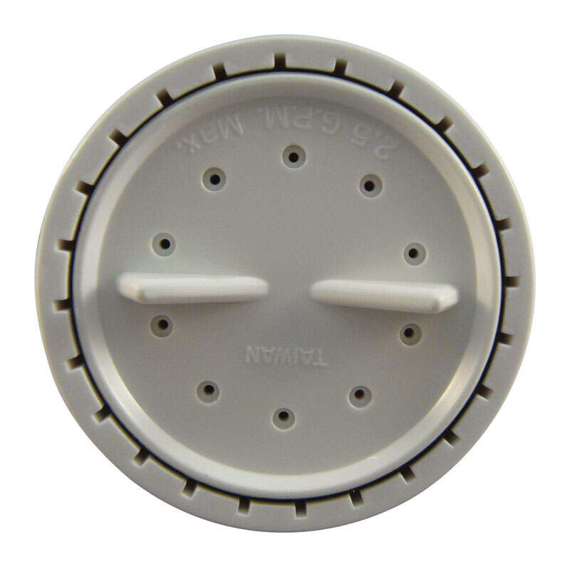 Ace  White  Showerhead  6 settings 2.5 gpm