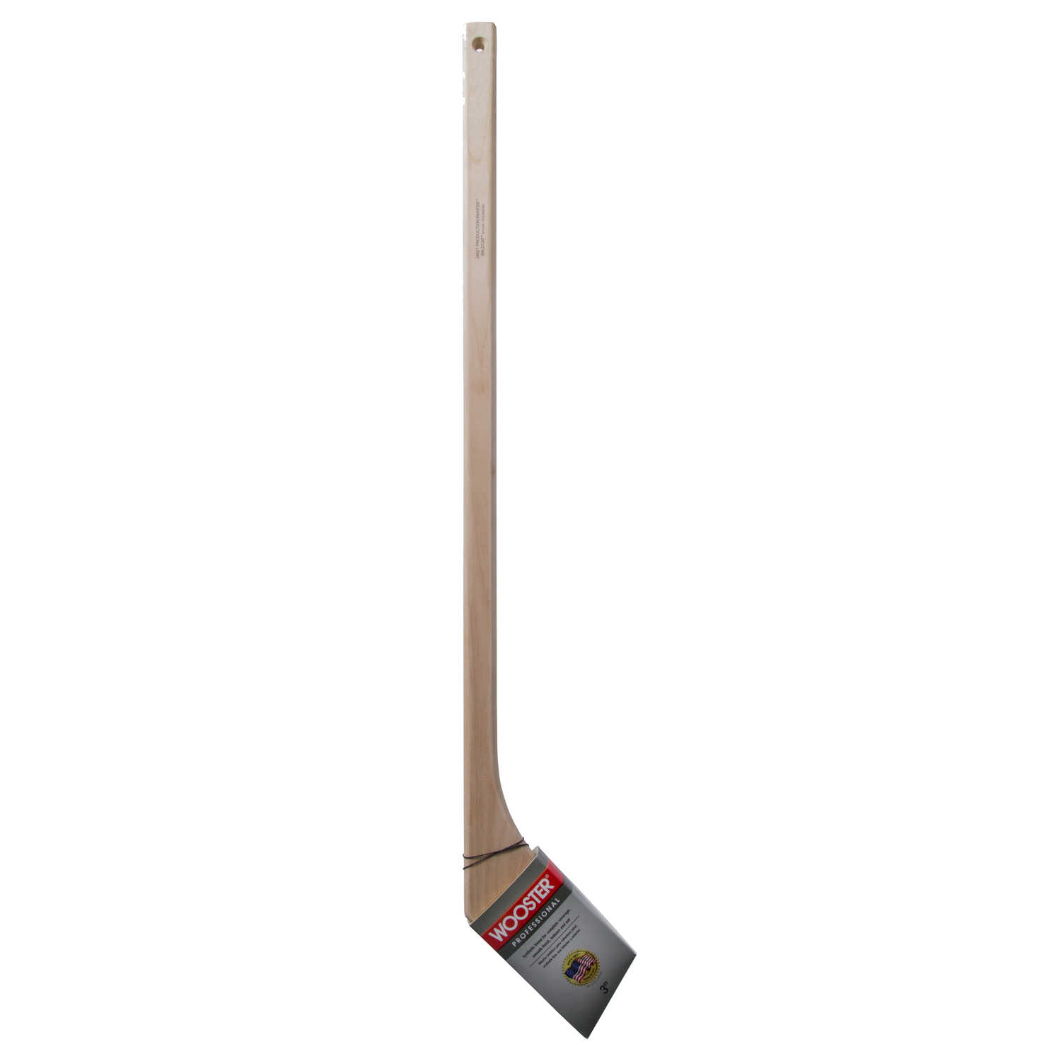 Wooster  Wildcat Hockey  3 in. W Angle  Nylon Polyester  Paint Brush