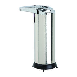 Better Living  Touchless  Silver  Stainless Steel  Lotion/Soap Dispenser