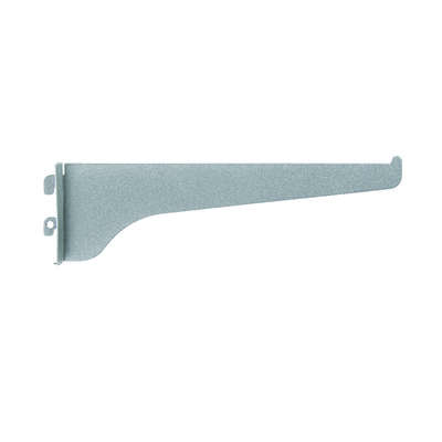 Knape & Vogt Steel Regular Duty Bracket 16 Ga. 8 in. L 160 lb.