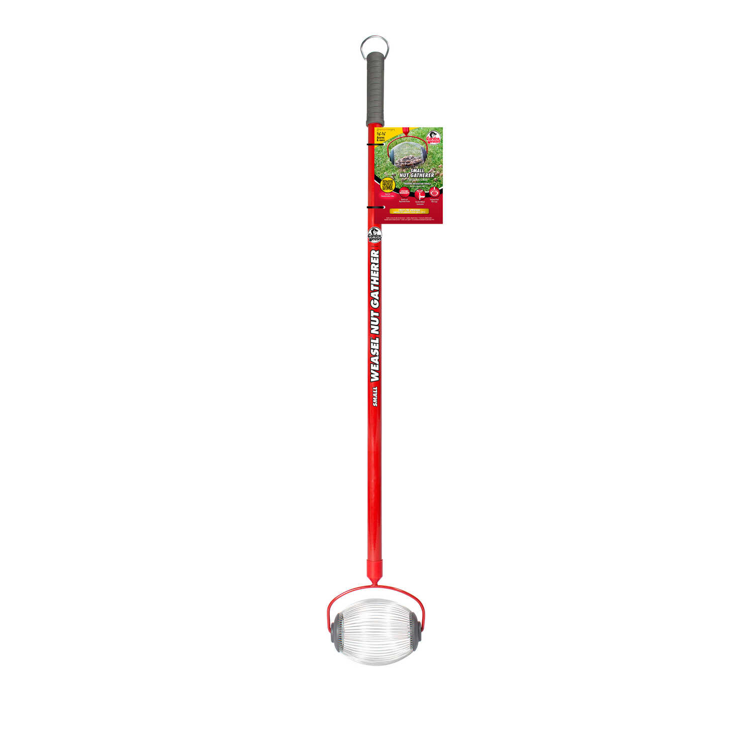 Garden Weasel Small Harvest 47 5 In L Small Nut Gatherer Ace Hardware