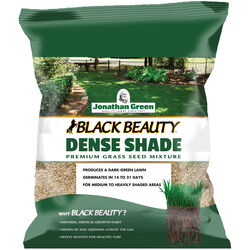 Jonathan Green  Black Beauty Dense Shade  Mixed  Sun/Partial Shade  Grass Seed  3 lb.