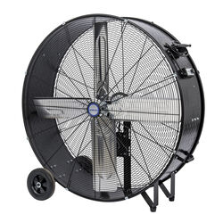 KOOL-FLO  38.8 in. H x 36 in. Dia. 2 speed Electric  Drum Fan