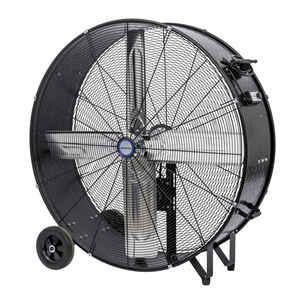 KOOL-FLO  38.77 in. H x 36 in. Dia. 2 speed Electric  Drum Fan