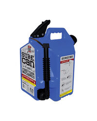 SureCan  Child Proof Cap  Plastic  Kerosene Can  5 gal.