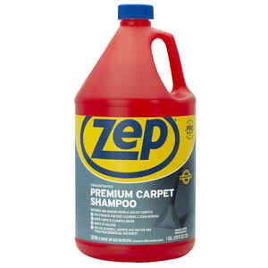 Zep  Commercial  Pleasant Scent Carpet Shampoo  128 oz. Liquid