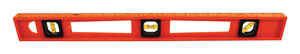 Ace  24 in. Plastic  I-Beam  Level  3 vial
