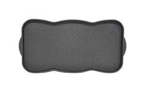 Bacova  Black  Polypropylene  Boot Tray  30 in. L x 15 in. W