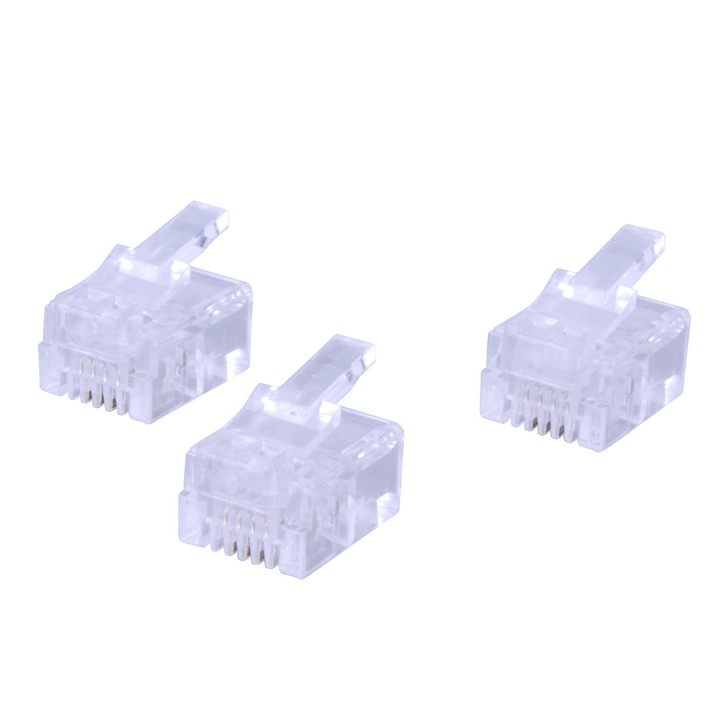 Monster Cable  Just Hook It Up  Telephone Rj11 Modular Crimp Plug Connectors