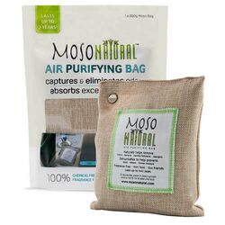 Moso Natural No Scent Air Purifying Bag 200 gm Solid
