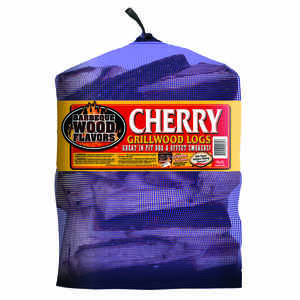 Barbeque Wood Flavors  Cherry  Cooking Logs  1 cu. ft.