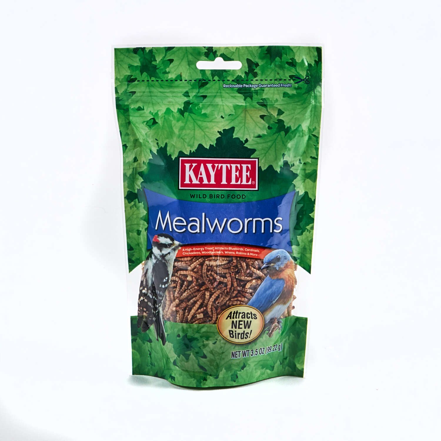 Kaytee  Mealworms  Robin  Mealworms  Dried Mealworm  3.5 oz.