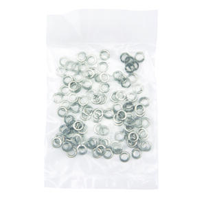 Hillman  Stainless Steel  Split Lock Washer  100 pk