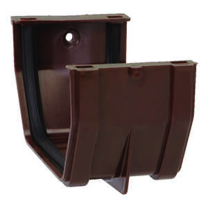 Raingo  5 in. H x 3 in. W x 4.9  L Brown  Slip Joint  Vinyl