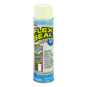 Flex Seal  As Seen On TV  Satin  Off White  Rubber Spray Sealant  14 oz.
