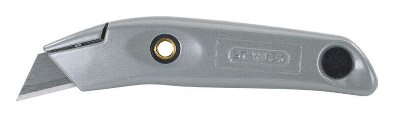 Stanley  Swivel-Lock  6 in. Fixed Blade  Knife  1 pc. Gray