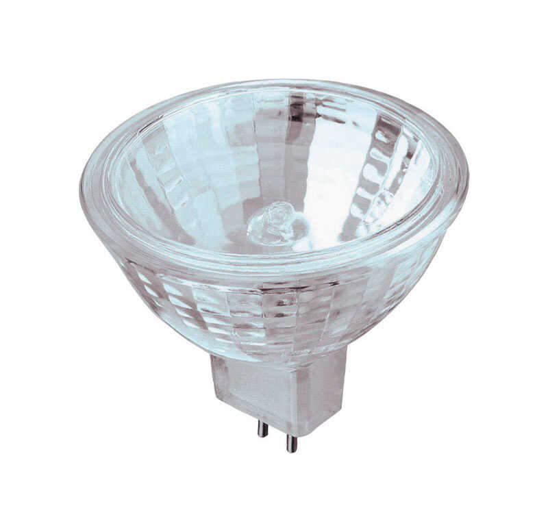 Westinghouse  50 watts MR16  Halogen Light Bulb  330 lumens Clear  GU5.3  Xenon  6 pk