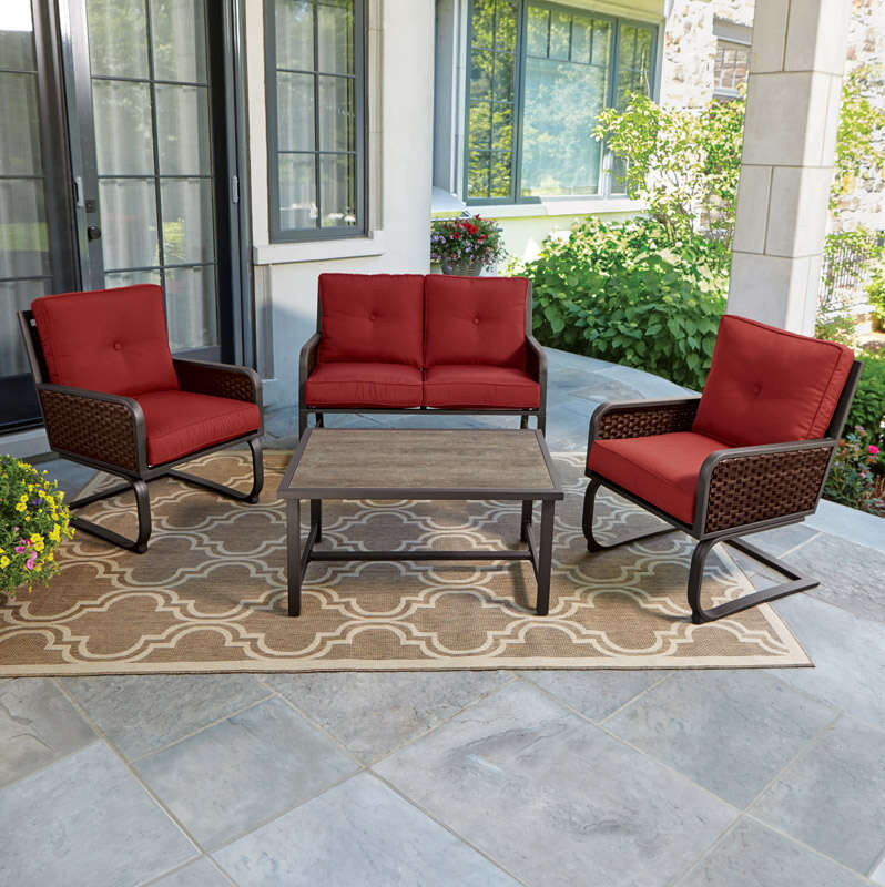 Living Accents  Brown  Deep Seating Set