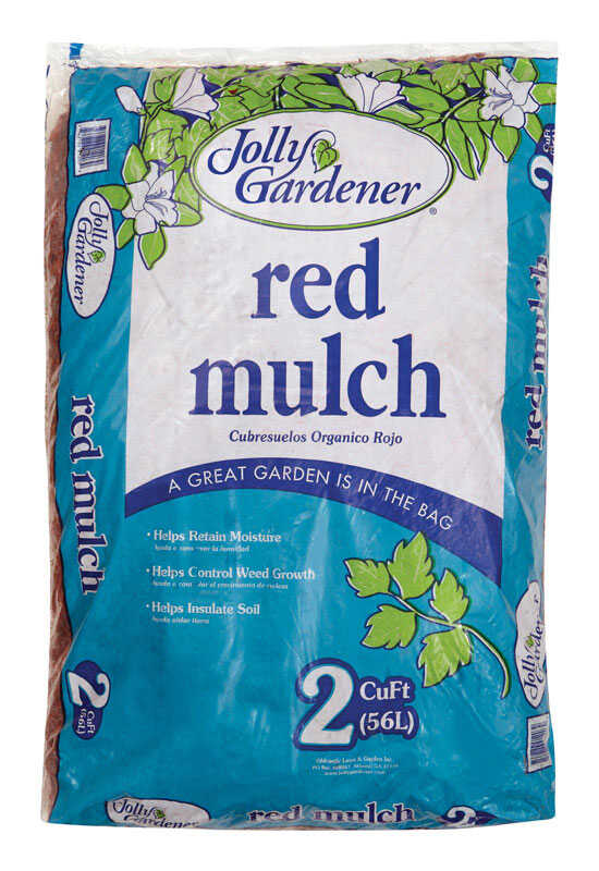 Jolly Gardener  Red  Mulch  2 cu. ft.