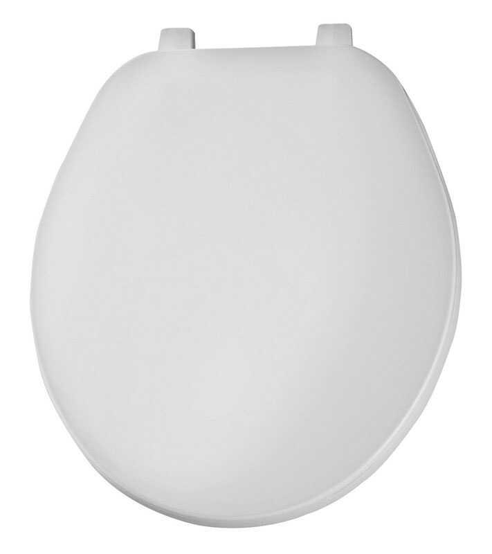 Excellent Mayfair Round White Plastic Toilet Seat Ace Hardware Creativecarmelina Interior Chair Design Creativecarmelinacom