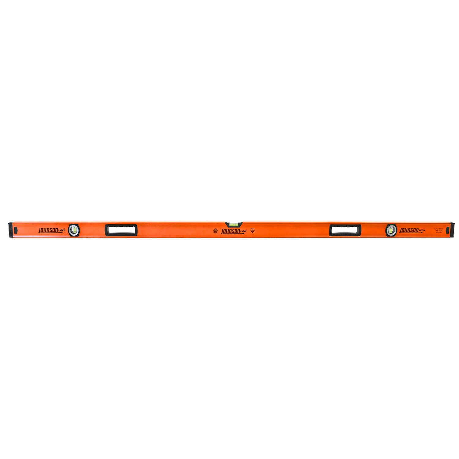 Johnson  72 in. Aluminum  Box Beam  Level  3