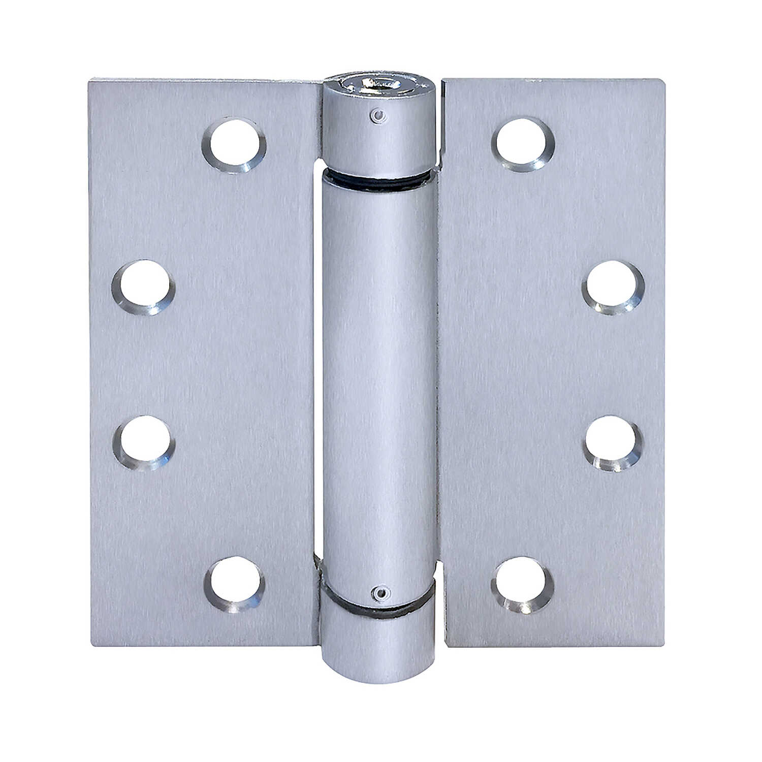 Tell  4 in. L Stainless Steel  Steel  Spring Hinge