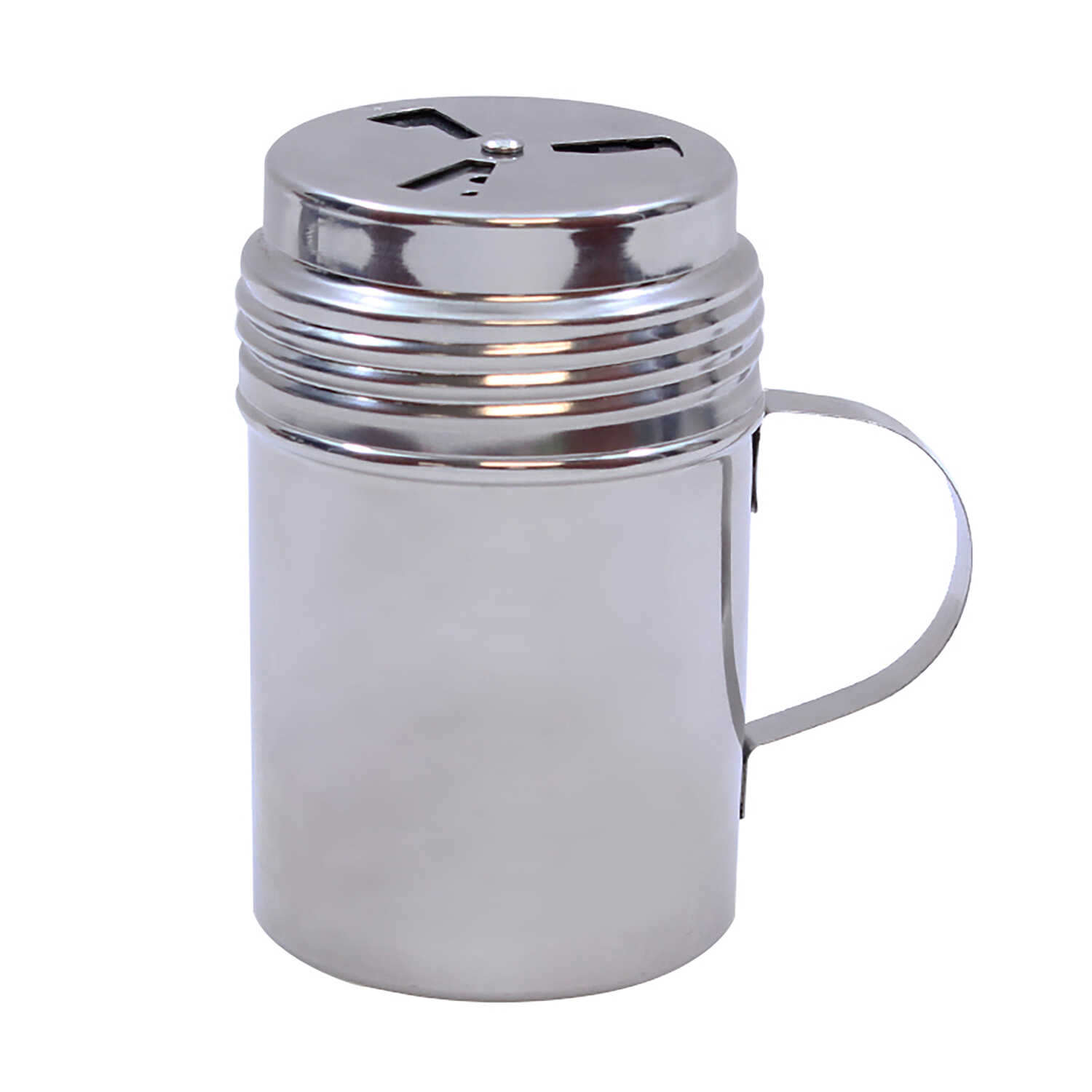 Tablecraft  BBQ  Silver  Stainless Steel  Dry Rub Shaker w/Handle