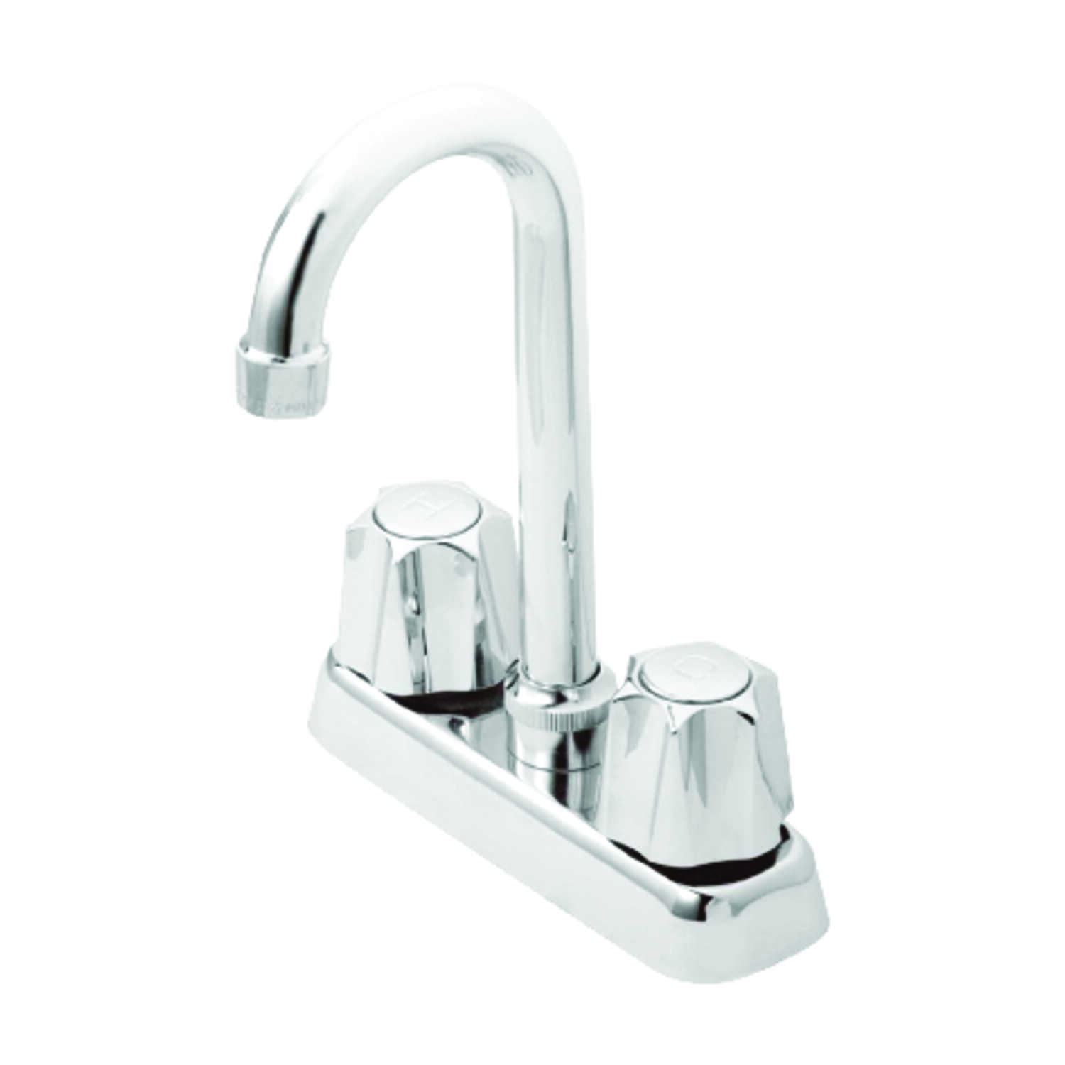 OakBrook  Washerless Cartridge  Two Handle  Bar/Utility Faucet  4 in. Chrome