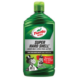 Turtle Wax  Super Hard Shell Finish  Liquid  Automobile Wax  16 oz. For All Finishes