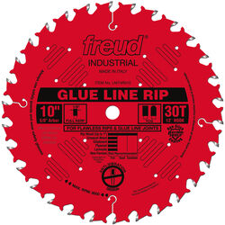Freud  10 in. Dia. x 5/8 in.  Industrial  Carbide  Saw Blade  30 teeth 1 pk