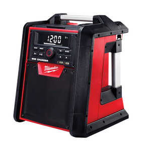 Milwaukee  M18  M18  Worksite Radio and Charger  1 pk Lithium-Ion  18 volt