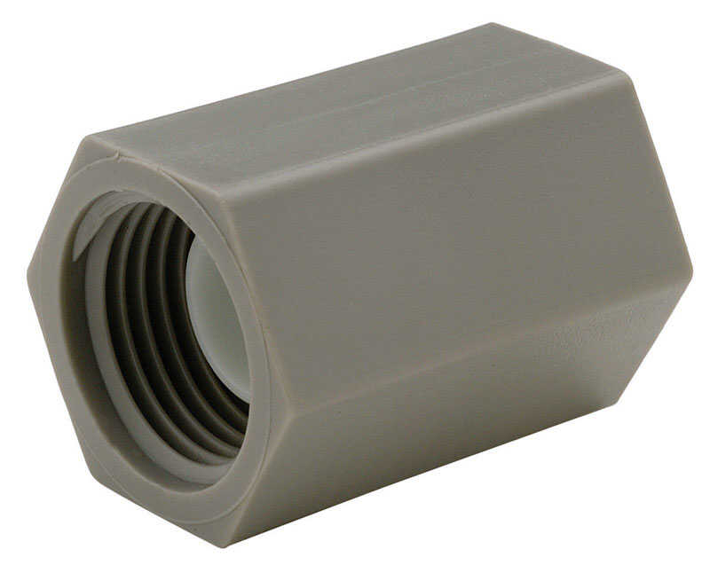 Zurn  1/2 in. FPT   x 1/2 in. Dia. FPT  Coupling