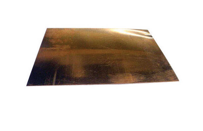 K&S  0.008 in.  x 6 in. W x 12 in. L Phosphorus Bronze  Sheet Metal