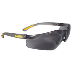 DeWalt Contractor Pro Anti-Fog Safety Glasses Smoke Lens Smoke Frame 1 pc.