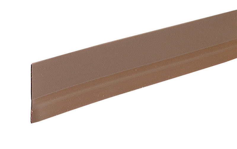M-D Building Products  Brown  Vinyl  Door Sweep  1/2   x 36 in. L For Door Bottom